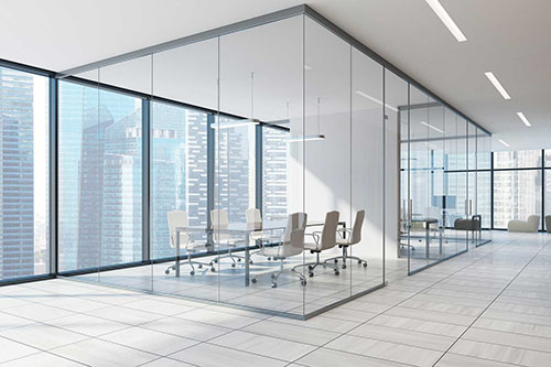 glass partition ideas