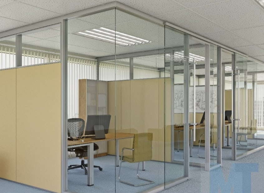 glass partitions for office meeting rooms in sydney