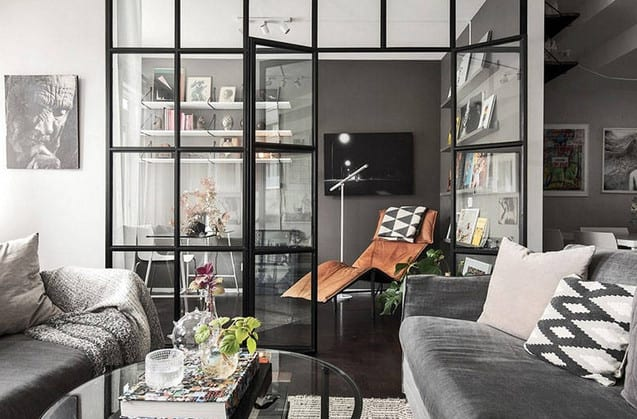 glass partition ideas for a home office